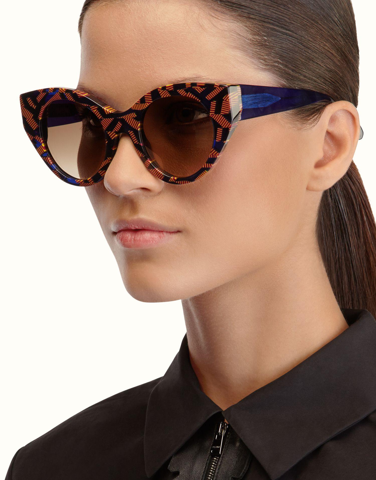 FENDI | FENDI AND THIERRY LASRY Cat-eye sunglasses | Fendi ...