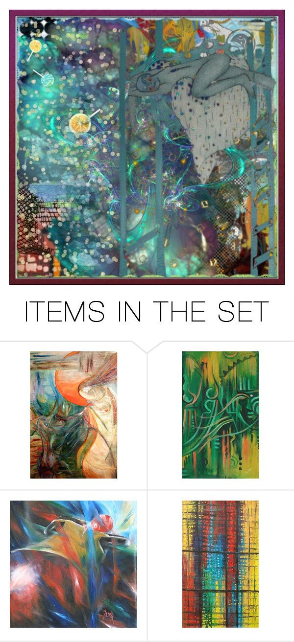 """""""Abstract rain: today, in my dreams..."""" by tempestaartica ❤ liked on Polyvore featuring art"""