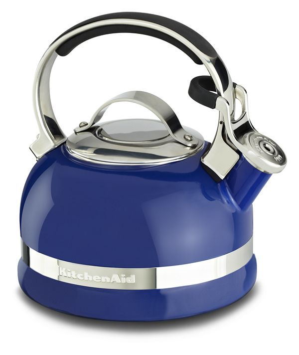 Kitchenaid 1 9 L Stove Top Kettle In Doulton Blue In 2020 Kitchenaid Kettle Kitchen Countertops