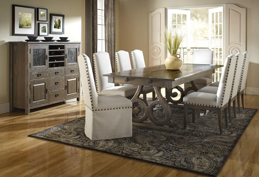 Champlain Weathered Grey Set  Dining Room Tables  Pinterest Custom Grey Dining Room Sets Inspiration