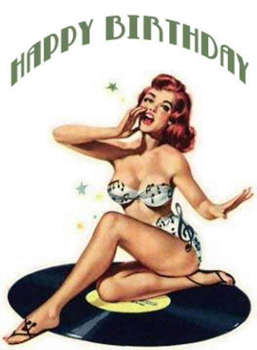 Happy Birthday pin up