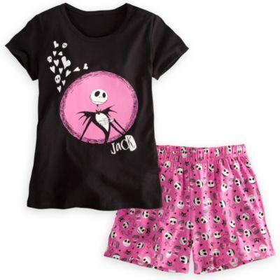 8c009f399 Jack Skellington Sleepwear Set for Women | Wants in 2019 | Nightmare ...