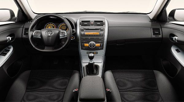 2012 Toyota Corolla Matrix Interior