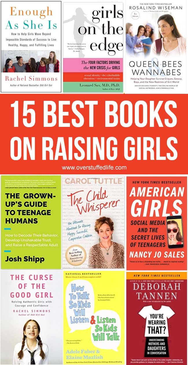 The 15 Best Parenting Books for Raising Girls #parenting