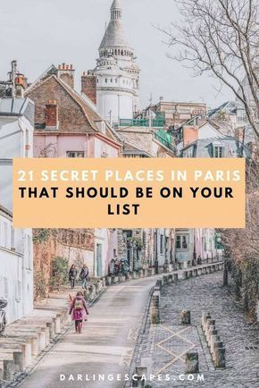 Finding the hidden places in Paris can be a chore so we've gone ahead and done the work for you. Sharing our favorite hidden gems in Paris (with some of our favorite secret places in Paris) including something for the foodies! #Paris #Hiddengems #Paristhingstodo