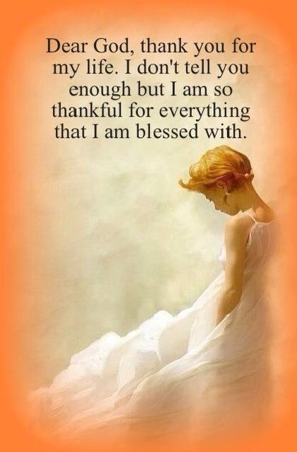 appreciation of thank you god The importance of saying thank you by linda gilden jesus  gratitude and appreciation are discover how you can find peace with god you can also send us your.