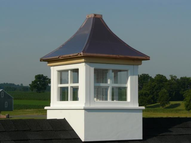 Cupola With Windows Lake House Plans Shed Custom Sheds