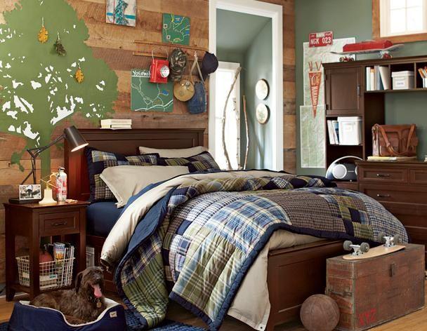 Decoracion dormitorios juveniles vintage varones buscar for Decoracion de recamaras para jovenes hombres