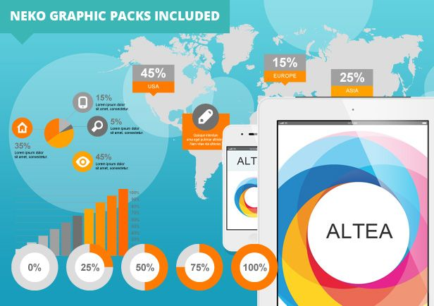 Site Templates Altea Parallax One Page HTML5 Template