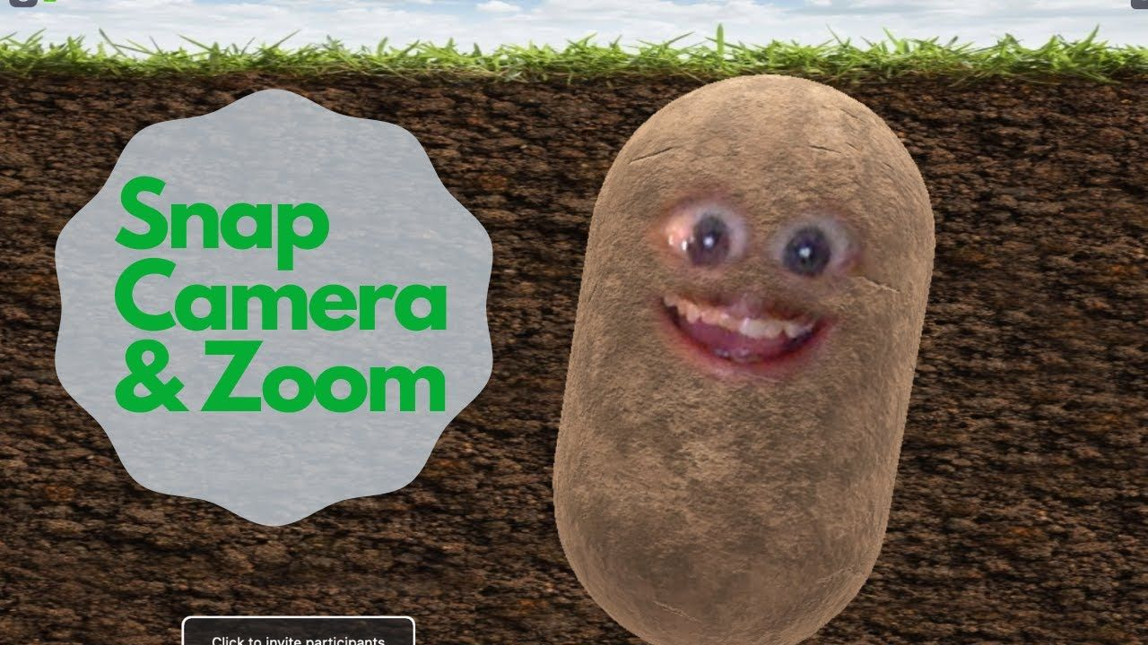 Make Yourself Into A Potato On Zoom With Snap Camera Youtube Snaps Camera Make It Yourself