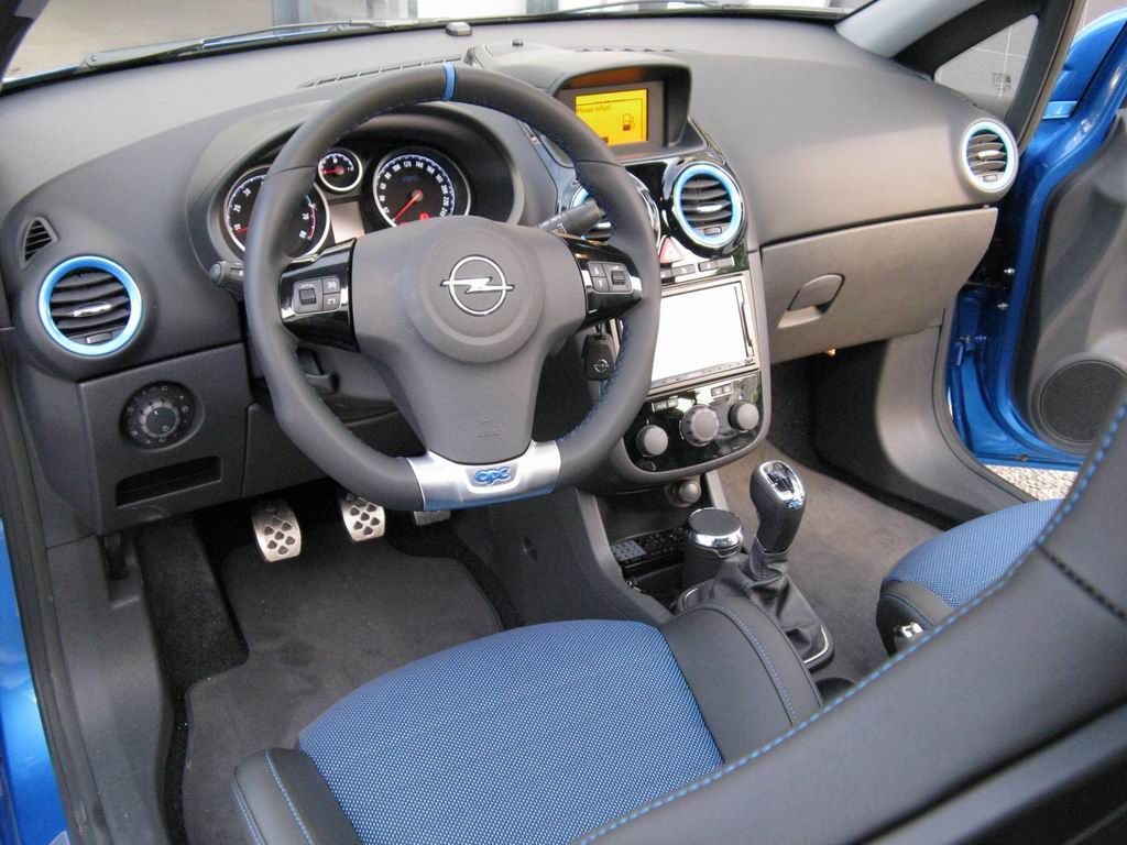 Interior Opel Corsa OPC | Pocket Rocket | Pinterest
