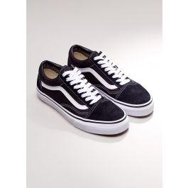 Old Skool Sneaker - Black + White  658615415