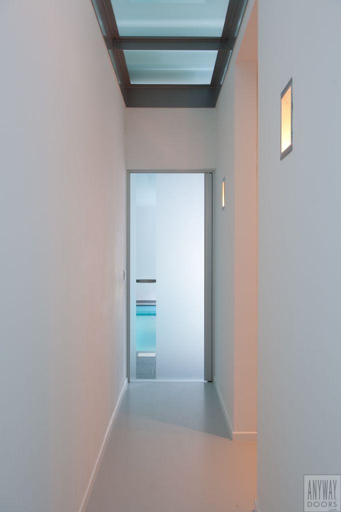 Porte En Verre Sablé Moderne Sdb Wc Doors Modern Interior Et
