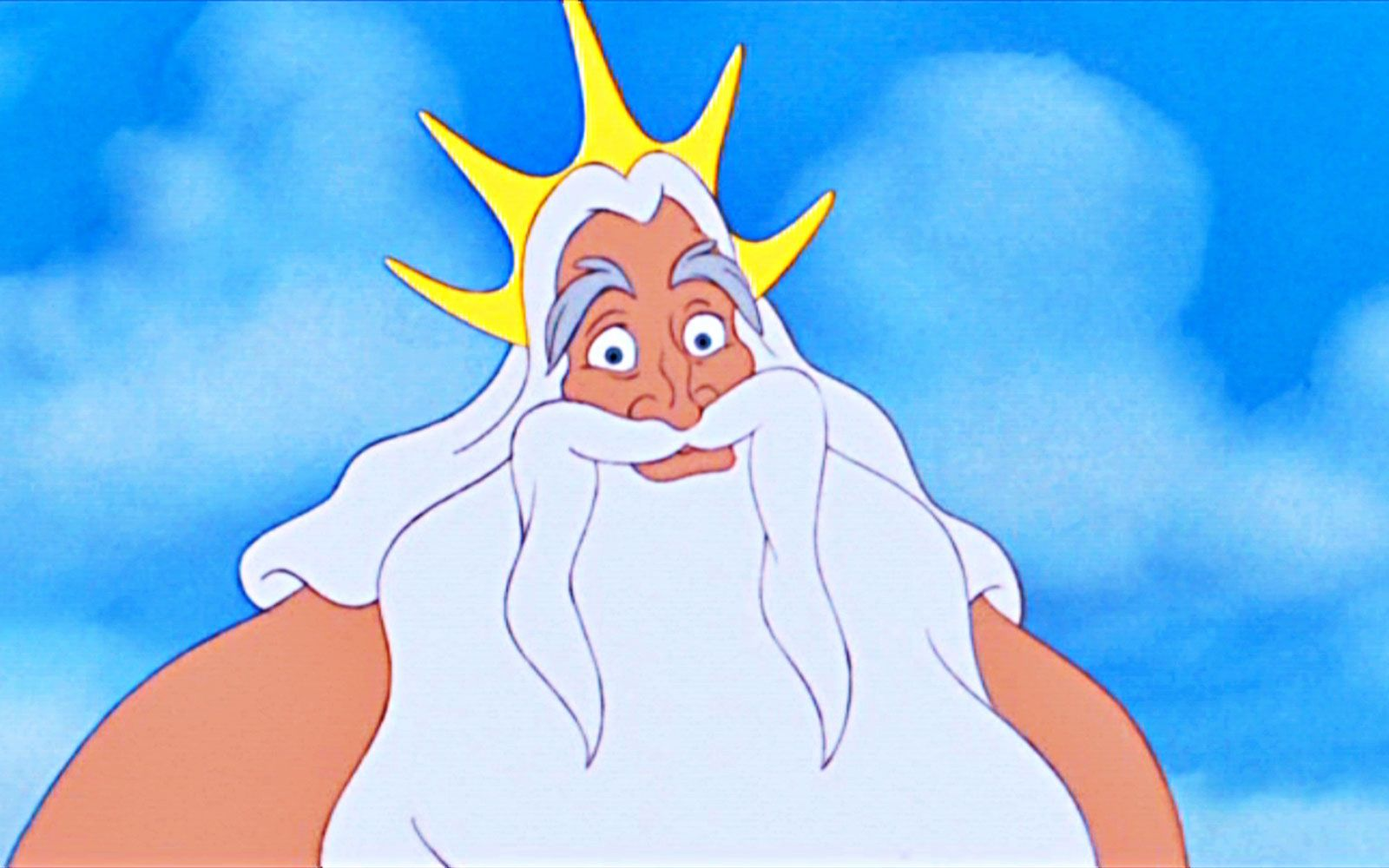 Uncategorized Ariel And King Triton kenneth mars as king triton in little mermaid voices of disney characters pinterest mars