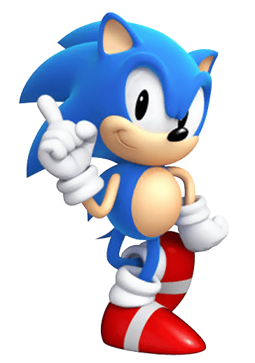 Sonic Generations Artwork Sonic Render From The Official Artwork Set For Sonicgenerations On Ps3 3ds Xbox360 And Pc So Sonic Party Sonic Sonic Generations