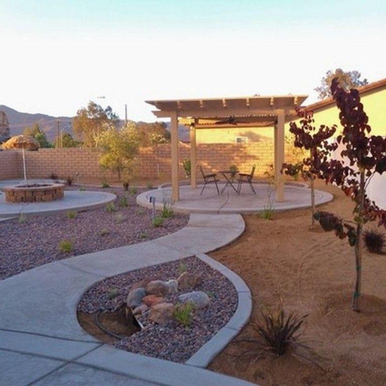 78+ Awsome Backyard Desert Lanscaping Ideas #backyard # ... on Desert Landscape Ideas For Backyards id=69535