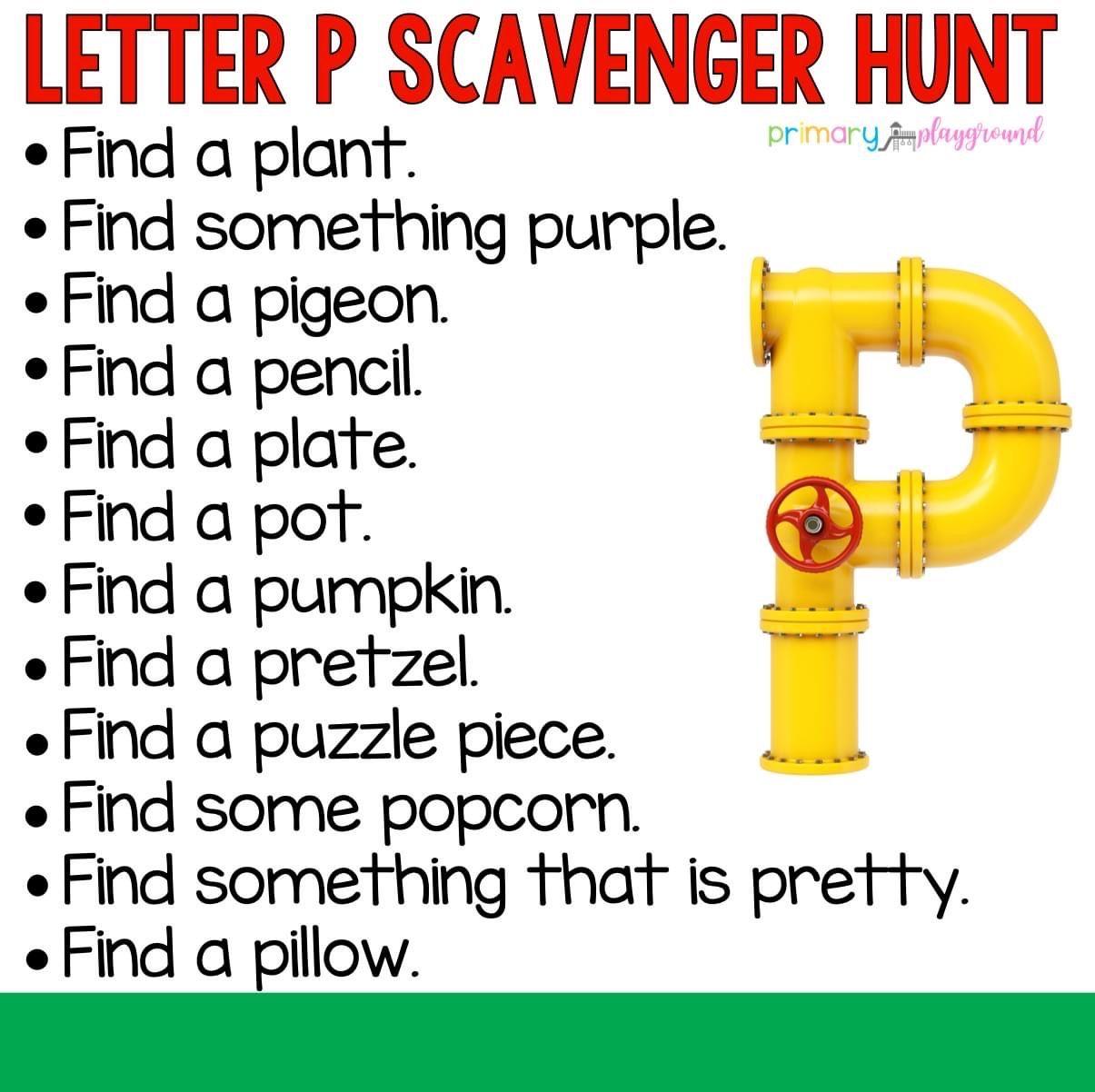 Pin On Scavenger Hunt