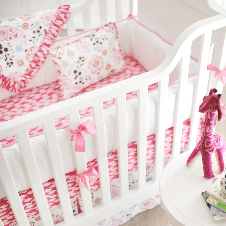 Crib Bedding Penelope Pink #Laylagrayce