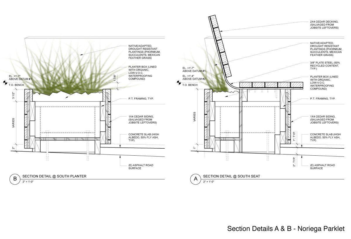 Concrete Planter Construction Details Google Search Building Design Architecture Attic Design