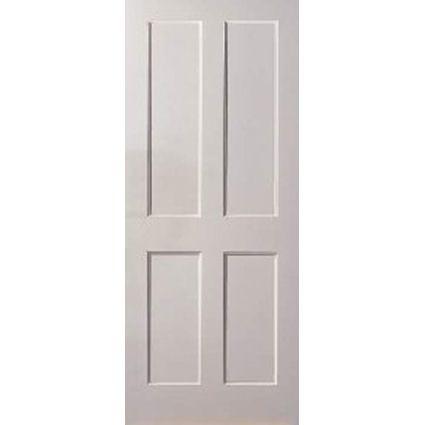 Flat 4 Panel Door Br Primed Shaker Style Interior Doors Doors Interior Stylish Doors