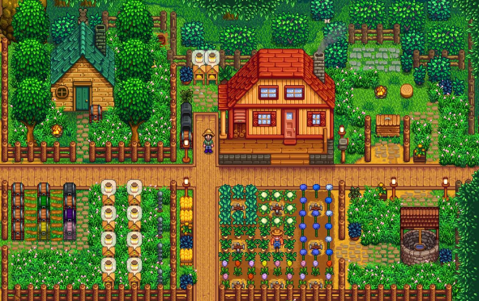 Pin By I Mgg On Sv Ideas Inspiration Stardew Valley Layout Stardew Valley Farms Stardew Valley