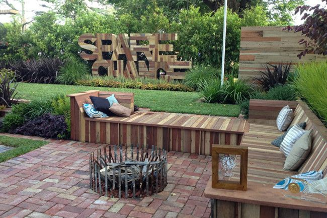 Garden Ideas Melbourne jason hodges garden was made from found and scrounged materials