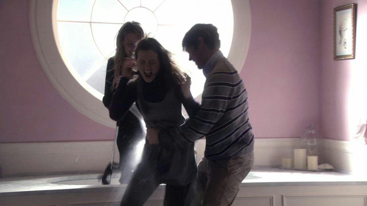 Serena van der Woodsen, Blair Waldorf & Nate Archibald