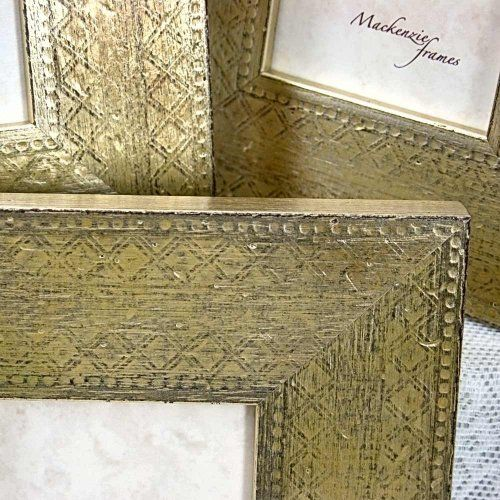 Wonderful flat silver frame with engraved distressed finish. #frames #silver #artfire #tabuladecoro