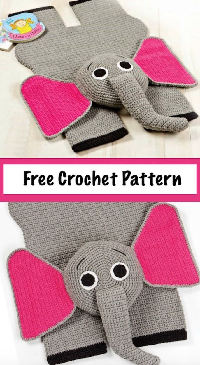 Crochet Animal Rugs Beautiful Patterns | The WHOot