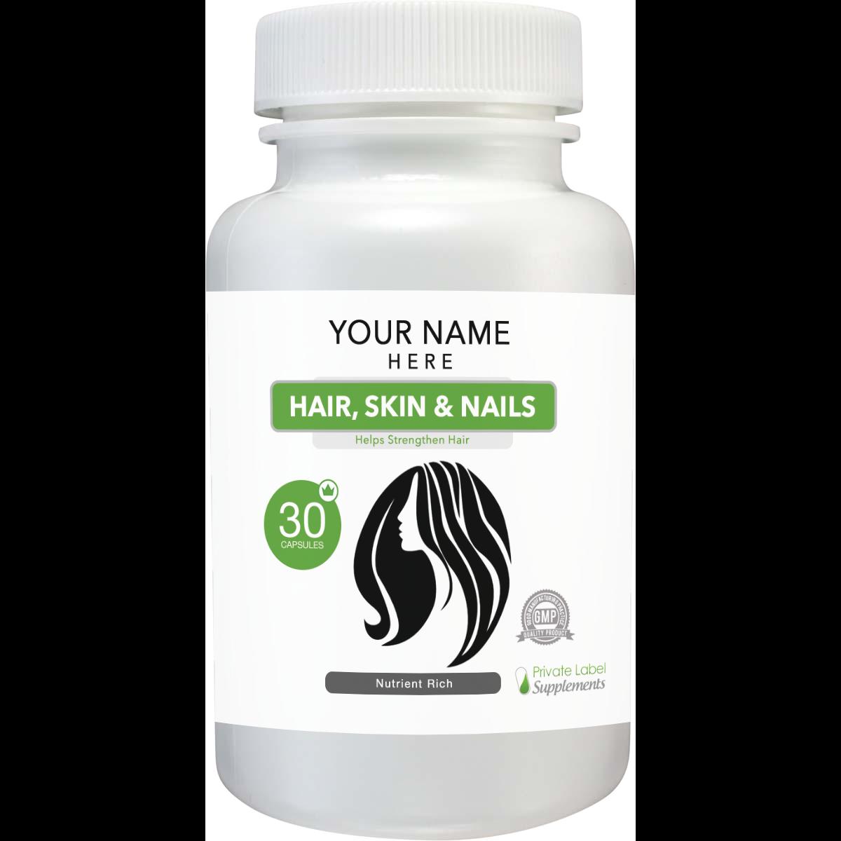 Hair, Skin & Nails Tablets Hair growth nutrients, Hair