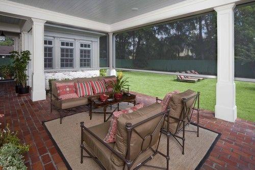 Retractable Porch Screens