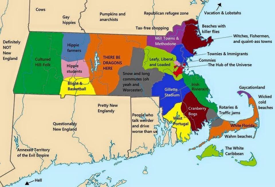 Massachusetts funny map boston new england is home massachusetts funny map gumiabroncs Gallery