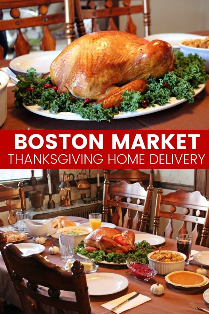Boston Market Thanksgiving meal options can deliver a