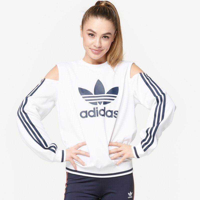 official photos 04bad 68baf adidas Originals Active Icon Cut-Out Sweater - Womens