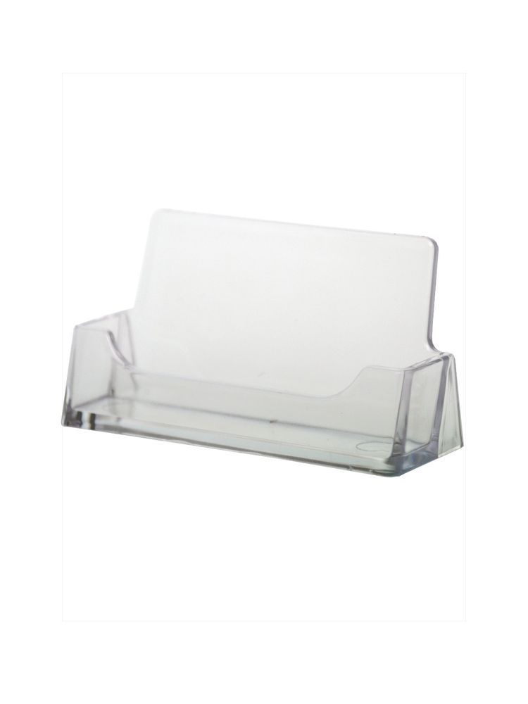 50 Clear Acrylic Business Card Holder Display Stand USA | Business ...
