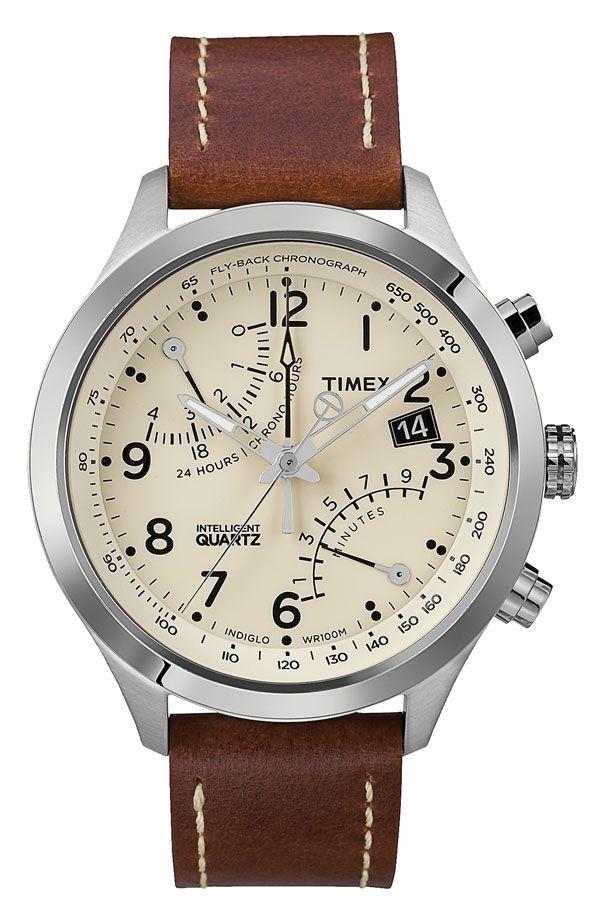 Intelligent Quartz  Fly-Back Chronograph Watch 986563a379