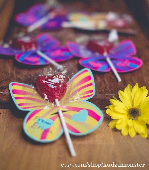 Sucker lollipop holder butterfly wings instant download girl\u0027s