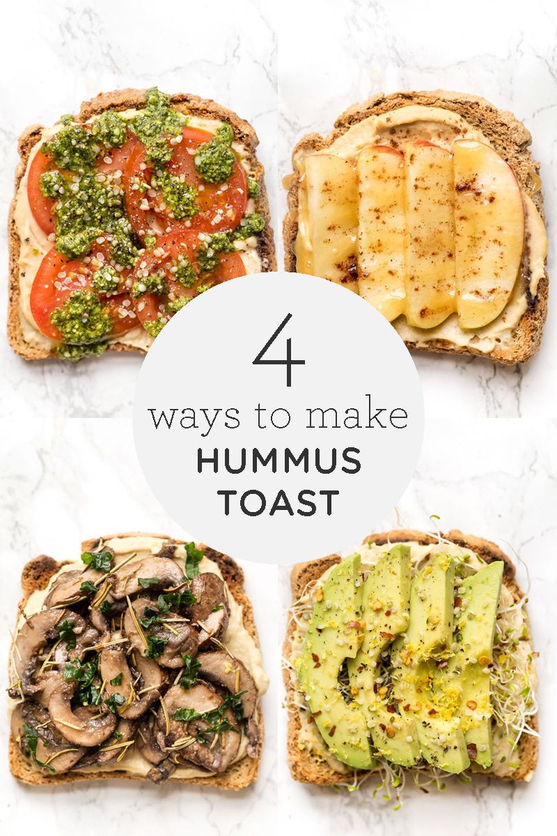 Photo of Healthy Hummus Toast | 4 simple breakfast recipes – simply quinoa