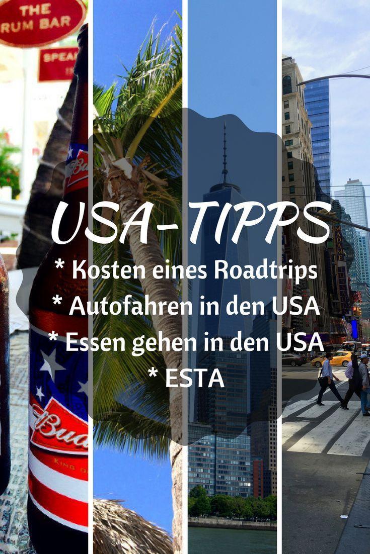 Usa Tipps Usa Reise Amerika Reisen Reisen