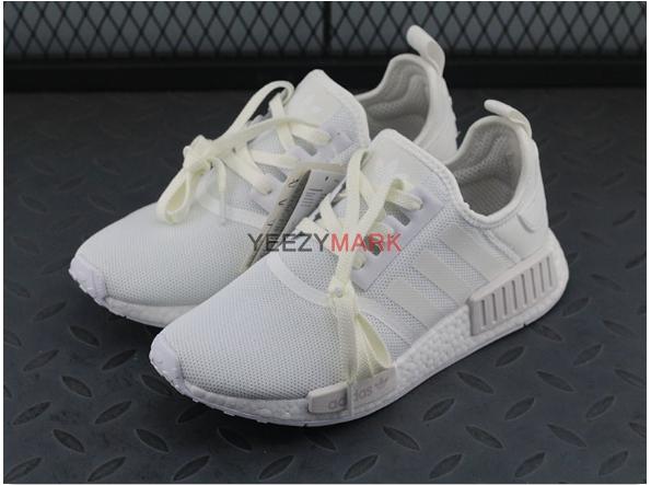 adidas NMD R1 PK Women Shoes WhiteBlue CQ2040