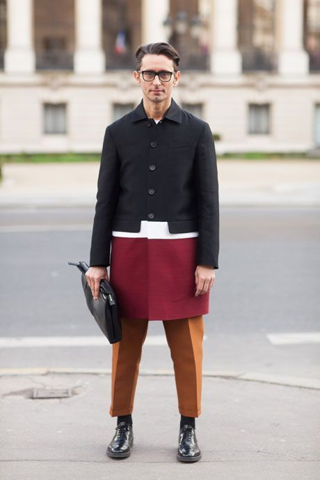 Inspiración para tu look del día a día tomado del street style para hombre con chicos de todo el mundo