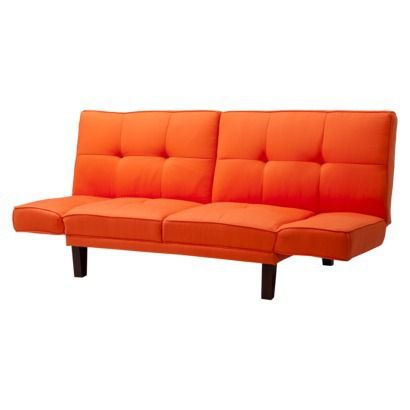 Sofa Bed Futon Orange Sofa Bed Orange