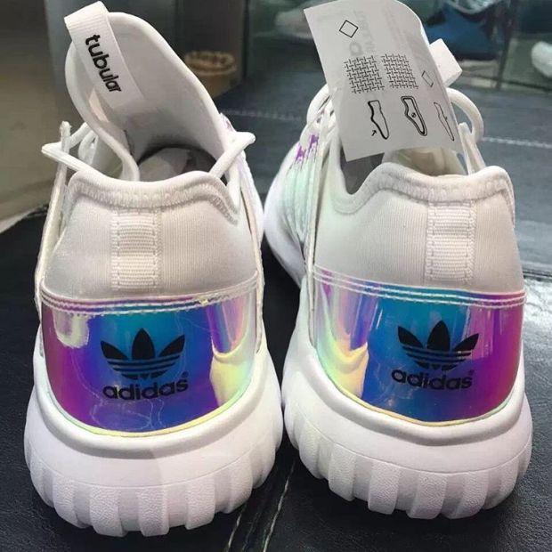 adidas tubular holographic