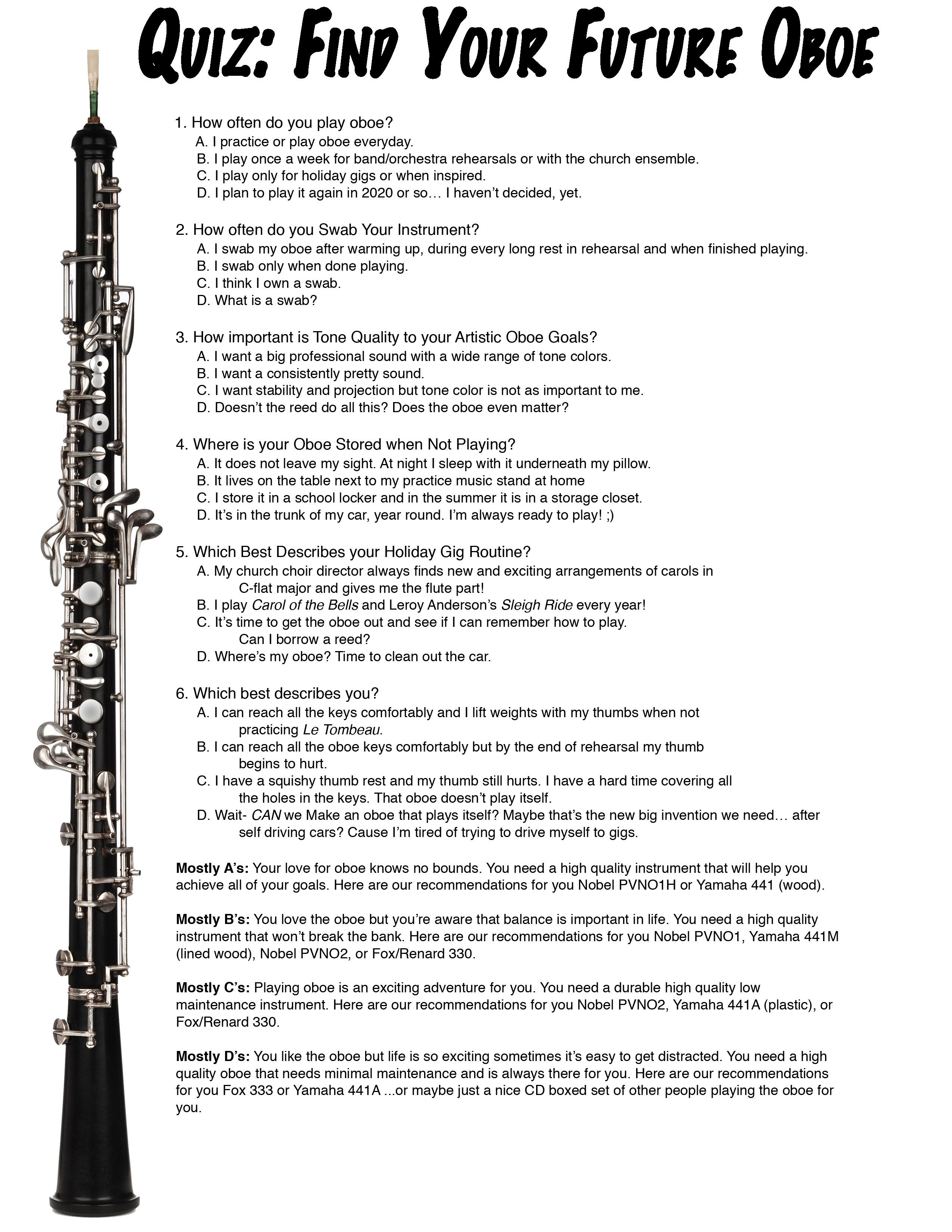 Finding an affordable oboe with guest erica howard