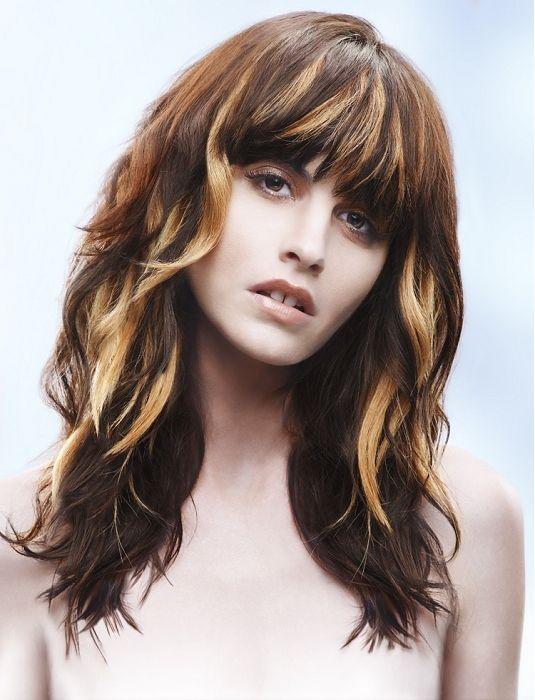 Brunette With Light Brown Highlights Blonde Hair Highlights Ideas