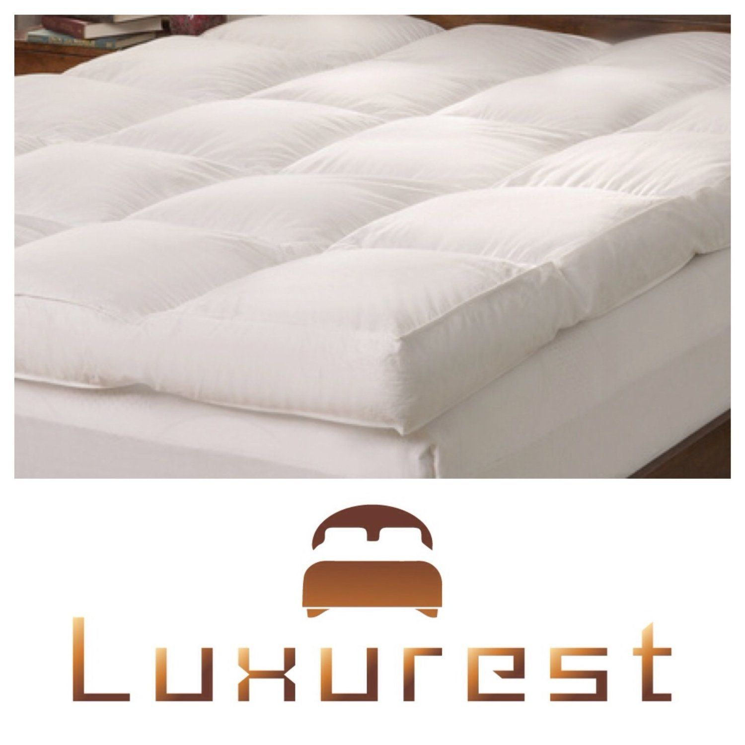 5 Inch Mattress Topper Feather Bed Pillow Top Mattress Topper 5 Inch Free Cover