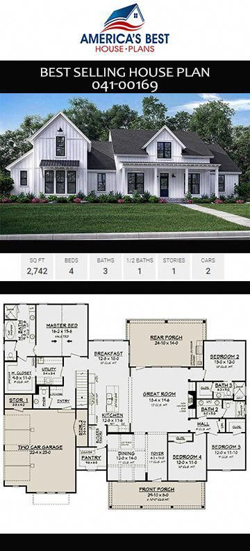 Gorgeous Story Modern Farmhouse Home Plan Offers Sq Also Interior Design  House Software Houseplan With Rh