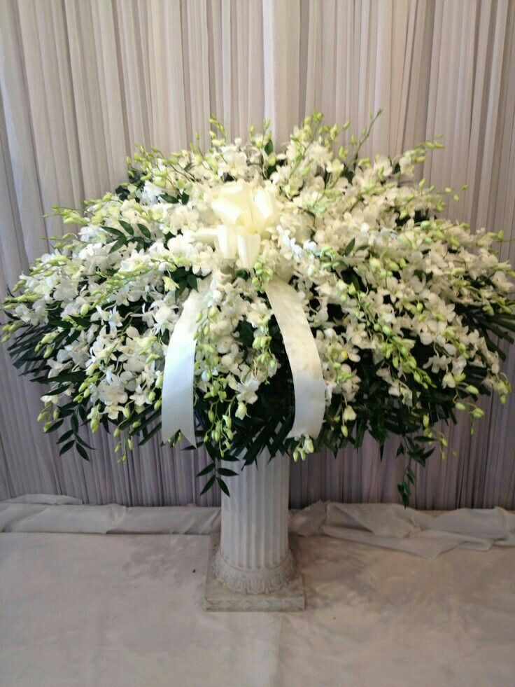 Pin by trina spindle on smpathy flower pieces pinterest funeral all white casket spray mightylinksfo