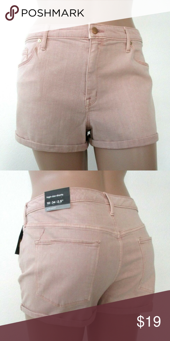 8c44c64d93d Plus Size 18 High Rise Shorts Mossimo NWT MOSSIMO Shorts Firm price brand  new jean shorts
