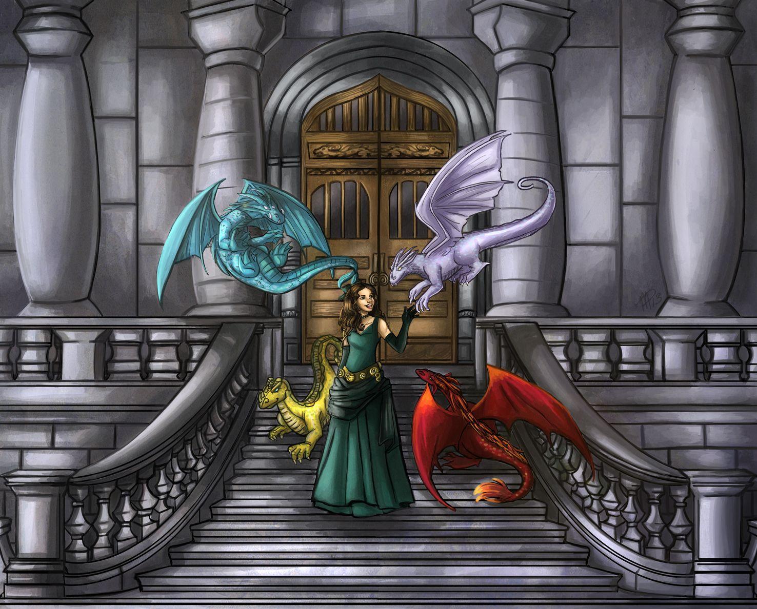 Dragon Sanctuary by mallettepagan0.deviantart.com on @DeviantArt